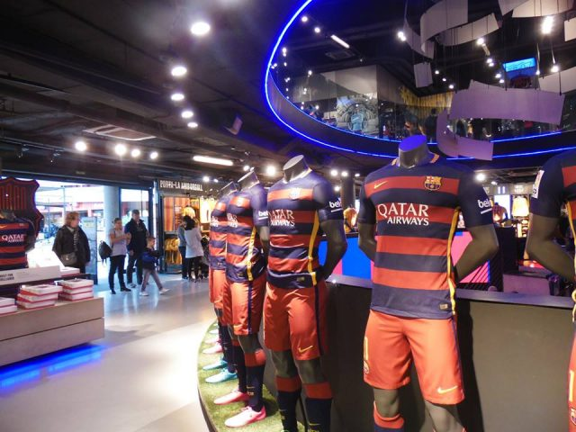 Camp Nou Shop